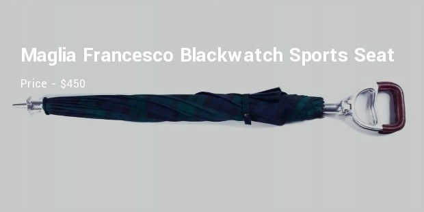 maglia francesco blackwatch sports seat umbrella