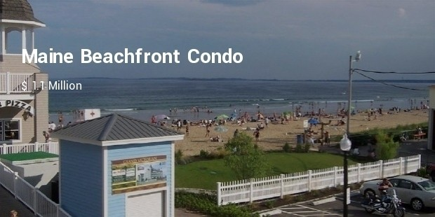 maine beachfront condo