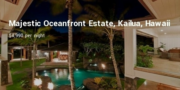 majestic oceanfront estate, kailua, hawaii