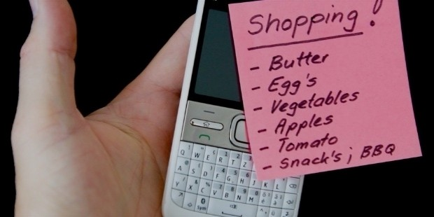 make a shopping list and stick to it