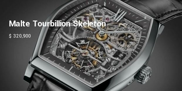 malte tourbillion skeleton