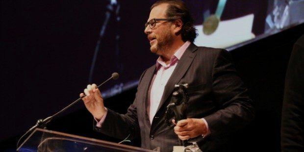 marc benioff achievements