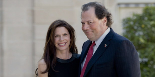 marc benioff wife