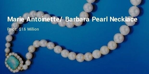 marie antoinette barbara hutton single strand pearl necklace