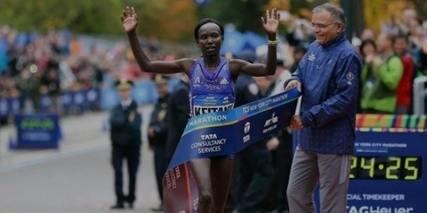 mary keitany wins the 2015 new york city marathon