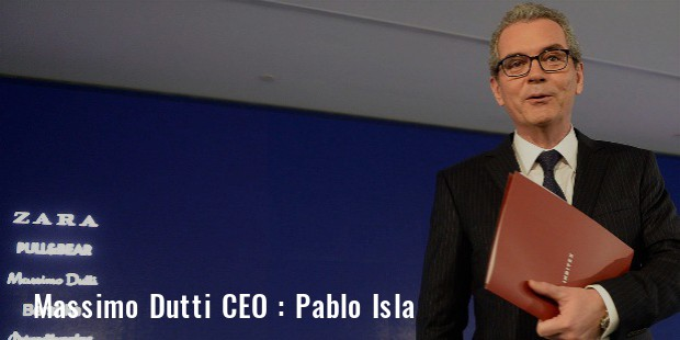 Massimo Dutti CEO