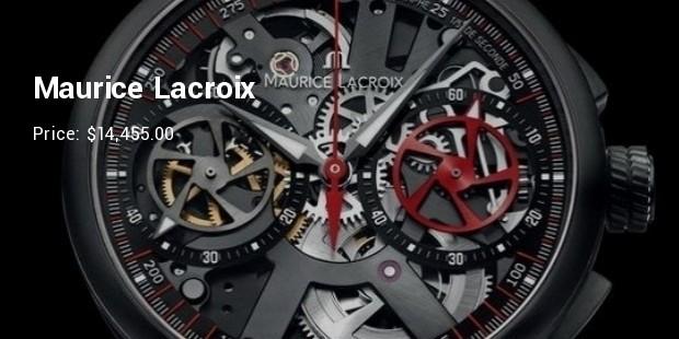 maurice lacroix le chronographe squelette limited edition