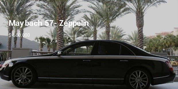 maybach 57  zeppelin