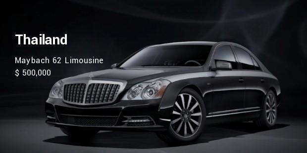 maybach 62 limousine