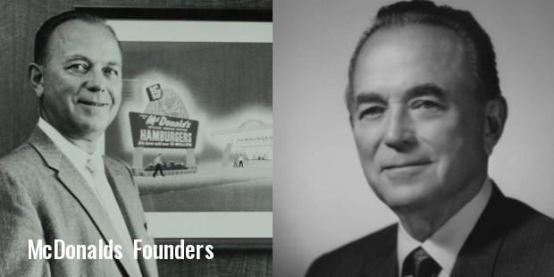 mcdonalds founders