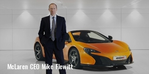 mclaren chief mike flewitt
