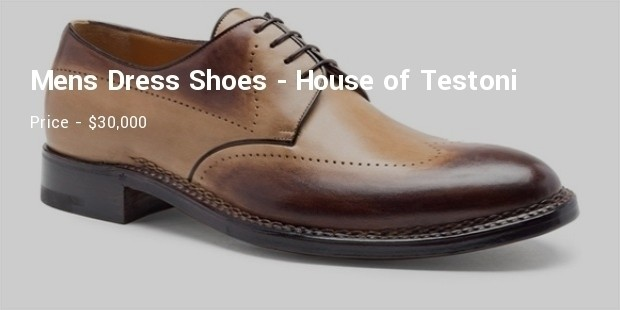 mens dress shoes  from the house of testoni