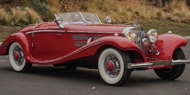 mercedes benz 540 k special roadster of 1937