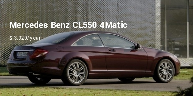 mercedes benz cl550 4matic