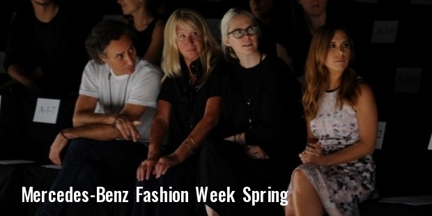 mercedes benz fashion week spring
