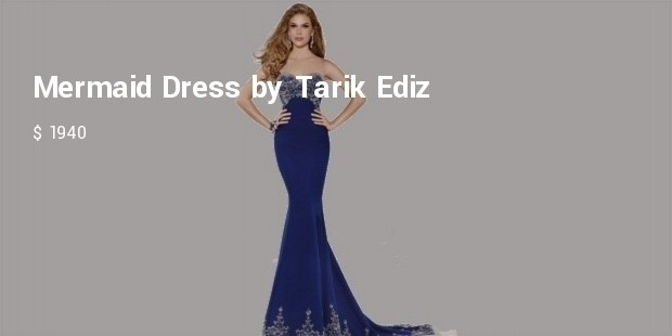 mermaid dress by tarik ediz prom dress
