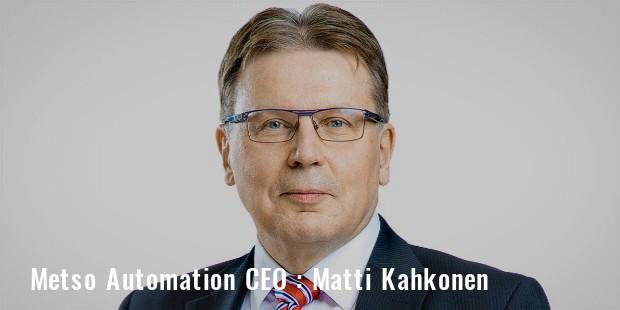 Metso CEO Matti Kahkonen