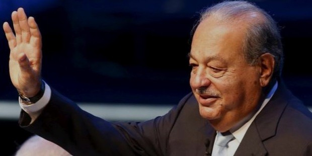 mexican tycoon carlos slim helu gestures during a conference at the seminar   mexico siglo xxi
