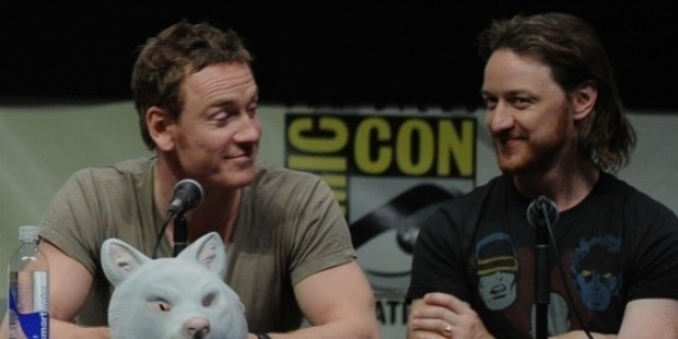 michael fassbender james mcavoy