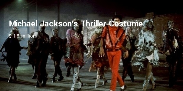 michael jacksons thriller costume