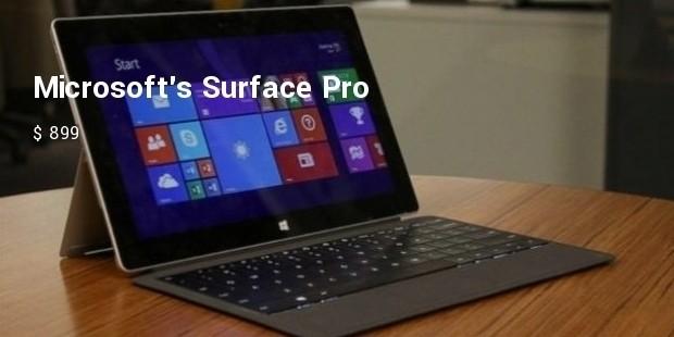 microsofts surface pro