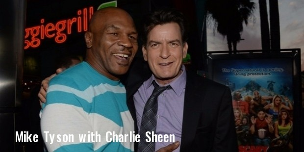 mike tyson, charlie sheen
