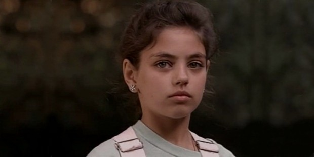 mila kunis childhood photo