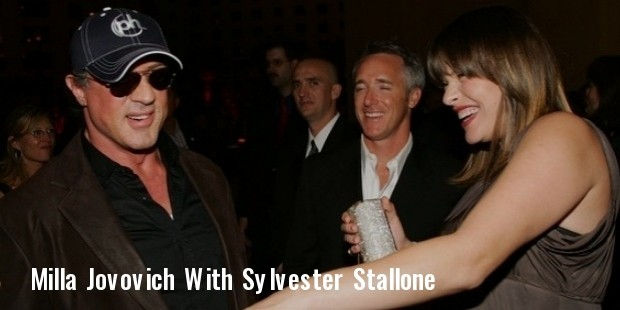 milla jovovich and sylvester stallone