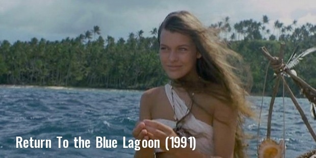 milla jovovich from return to the blue lagoon  1991