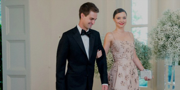 miranda kerr carolina herrera white house dinner evan spiegel