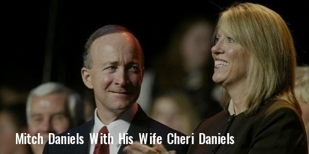 mitch daniels appears with his wife cheri