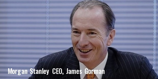 morgan stanley ceo