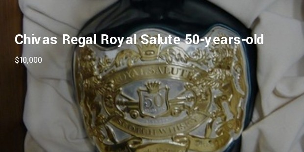 most expensive scotch chivas regal royal salute