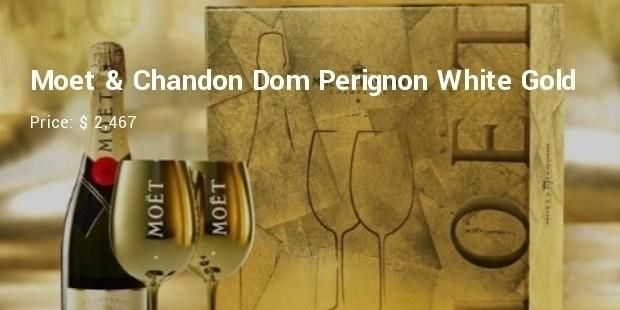 mot   chandon dom perignon white gold