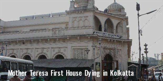 mother teresa first home