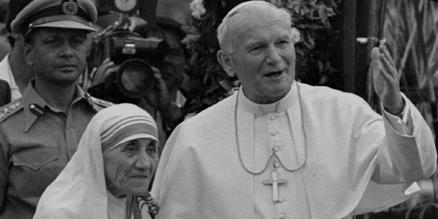 mother teresa john paul ii