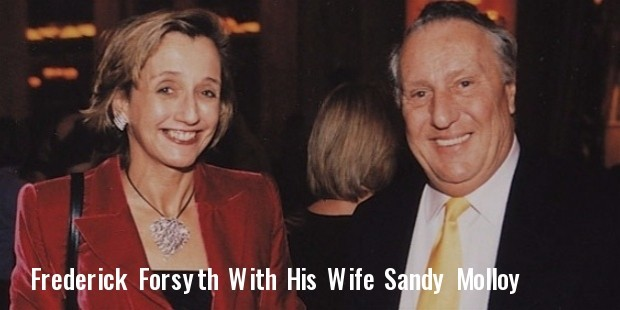 mr and mrs frederick forsyth