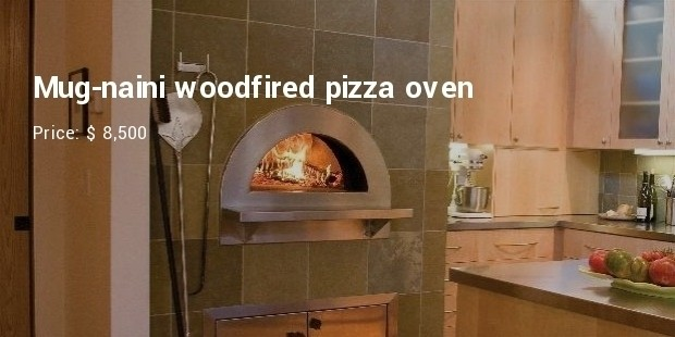 Mug-naini woodfired pizza oven