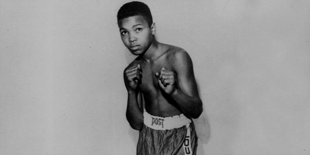Muhammad Ali childhood picture