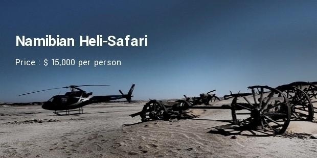 namibia heli safari