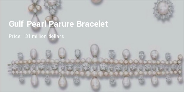 natural pearl parure harry winston