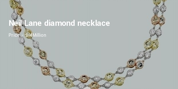 Neil Lane diamond necklace