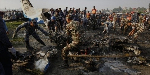 nepal plane crash found