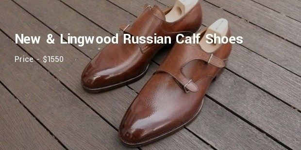 new   lingwood russian calf shoes