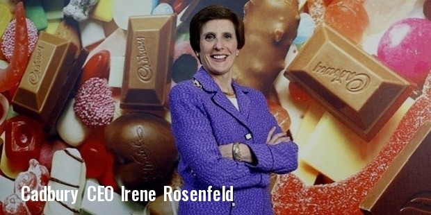 new cadbury boss irene rosenfeld