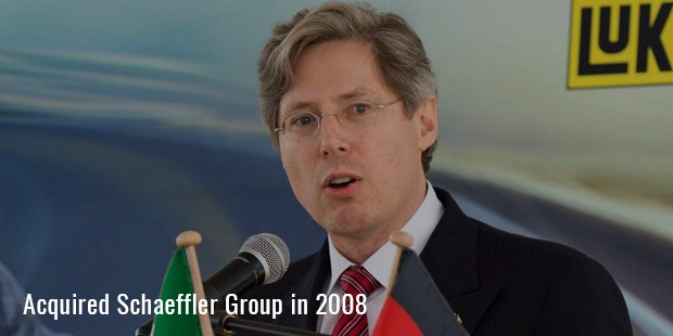 acquired Schaeffler Group in 2008