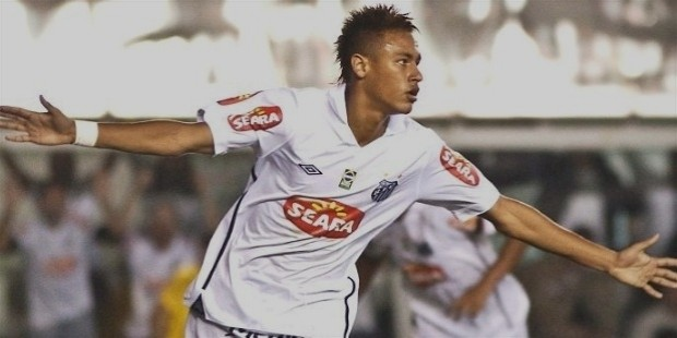 neymar career begining