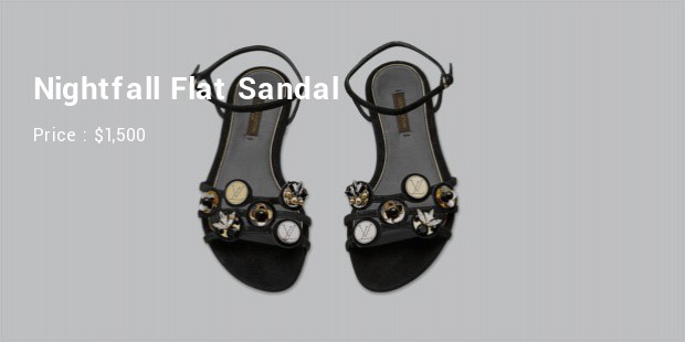 nightfall flat sandal