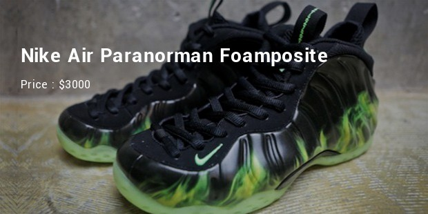 nike air foamposite paranorman
