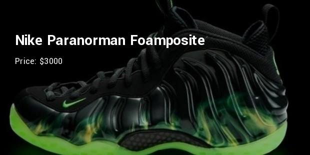 nike paranorman foamposite   $3000